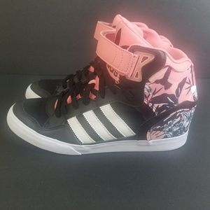 ADIDAS EXTABALL UP HIGH TOP SNEAKERS